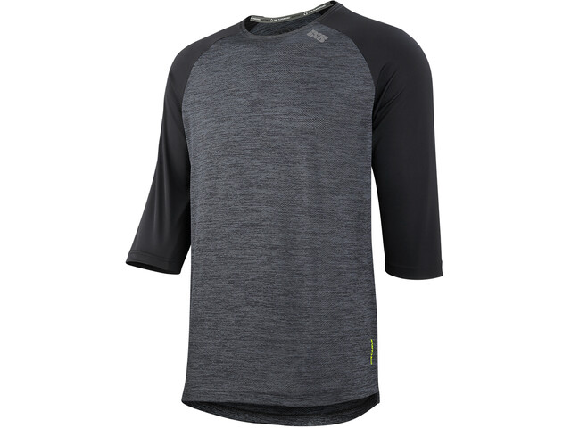 IXS Carve X 3/4 Jersey Men black/solid black